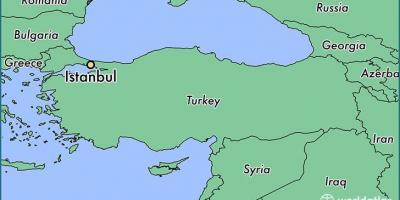 Turecko Mapa Mapa Sveta Turecko Mapa Atlas Sveta Zapadni Asie